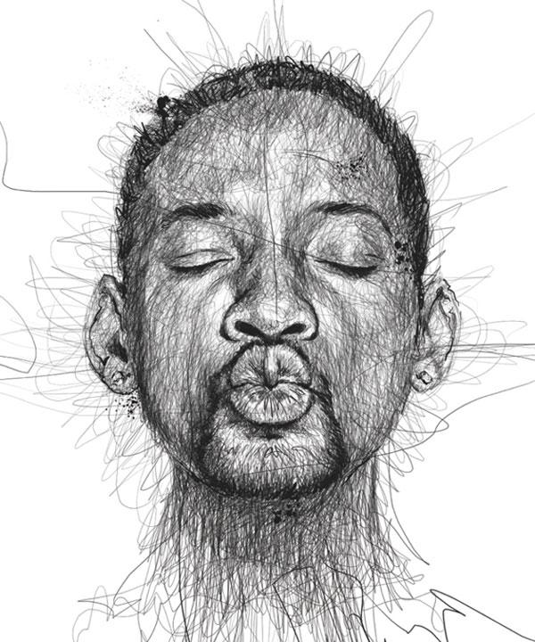 Espetacular-ilustração-de-Vince-Low-para-a-campanha-sobre-Dislexia