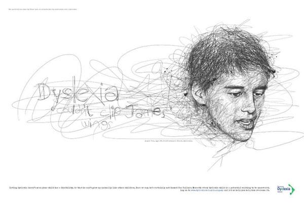 Ilustração-de-Vince-Low-para-uma-campanha-sobre-a-Dislexia