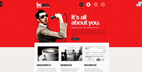 Exemplos de sites - BCOM