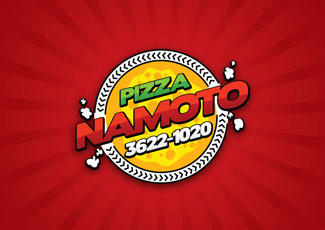 Logotipo Pizza Namoto