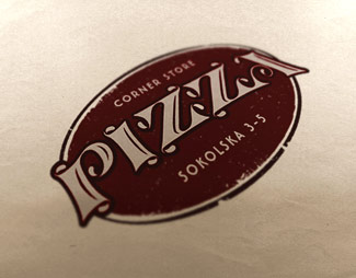 Logotipo Corne Store Pizza
